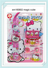 Girls interested small cute funnt toy tool set hello kitty make up with watch