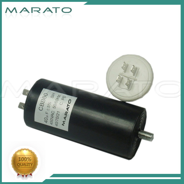 Hot style small three phase power capacitor