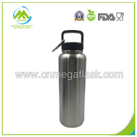 40oz 1100ML Stainless Steel Vacuum Insulated Hydro Flask Water Bottles with Carabiner