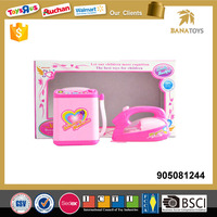 Pink washers and iron pretend play toys for kids