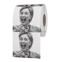 Funny Toilet Brand Hillary Clinton Toilet Paper