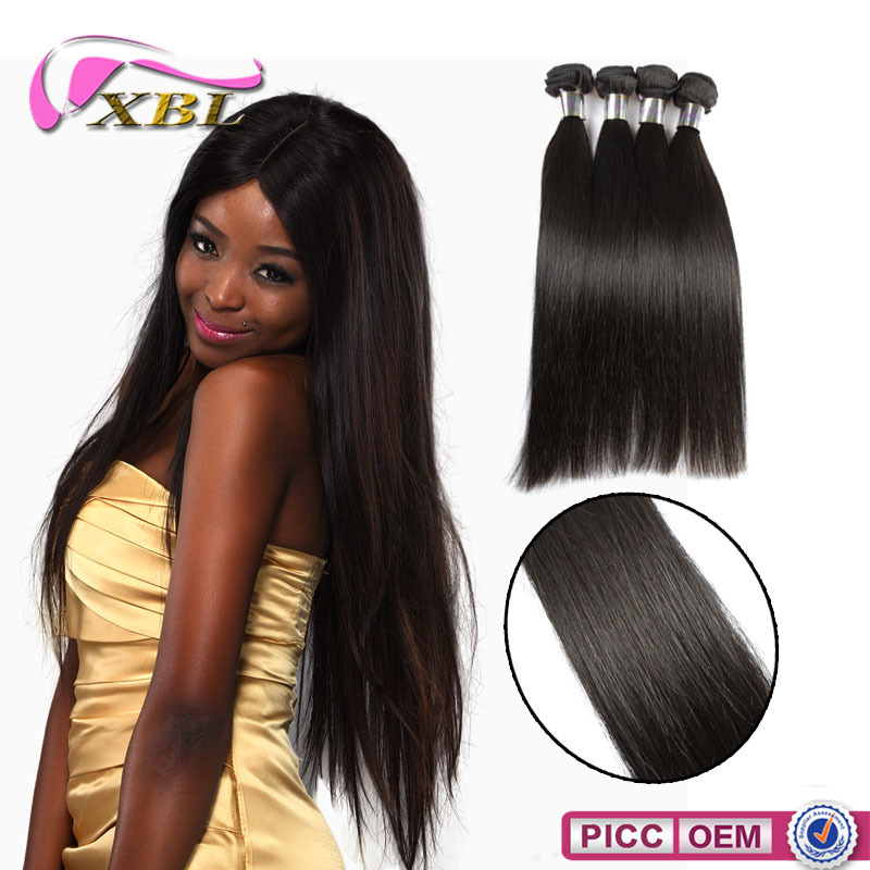 No Tangle XBL Grade 7A Virgin Hair Chemical Free High Quality Brazillian Hair