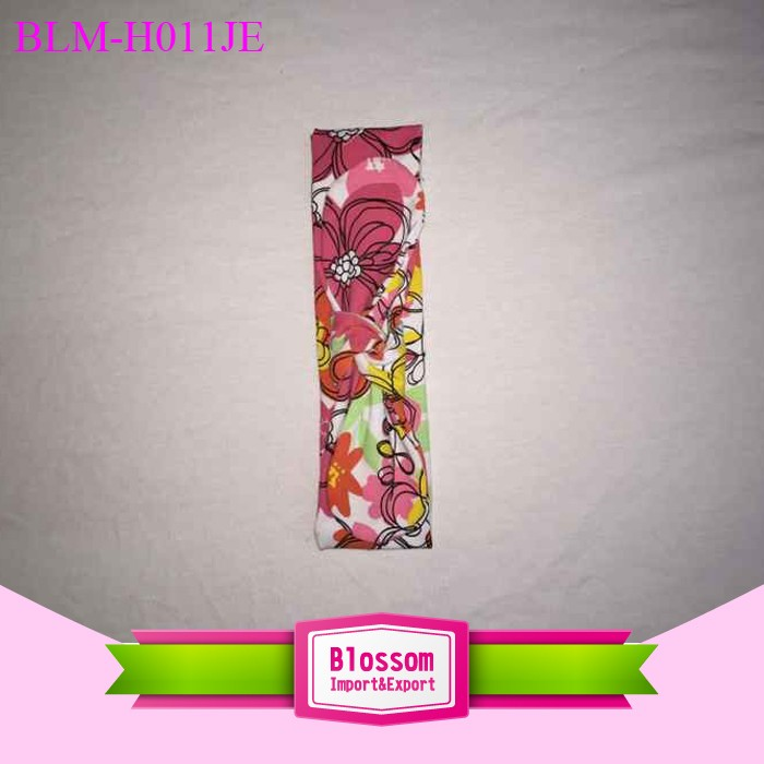 Infant baby cotton plain knot headband Baby Floral Hairband Colorful Children headband