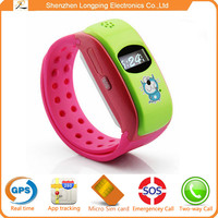 Shenzhen NEW electronics tracking device for kids smart watch GPS smartwatch