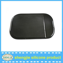 2016 Silicone gel car mat washable sticky mat in dongguan shengjie