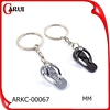 custom metal keychain promotional cute shoes keychain