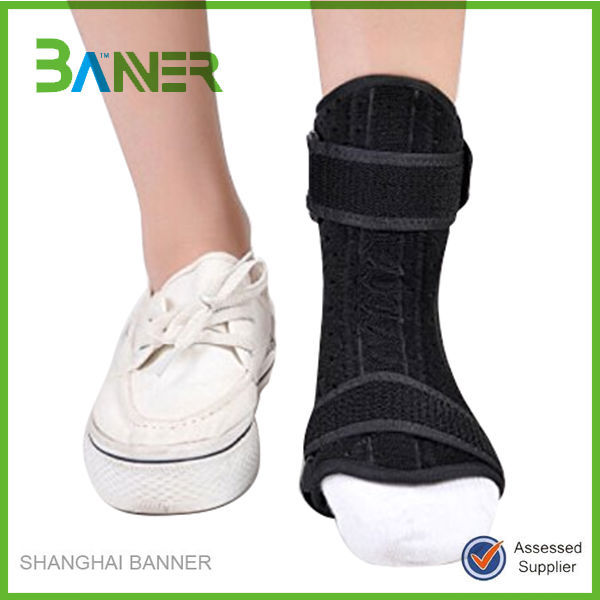Sport injury pain relief protection neoprene waterproof ankle immobilizer