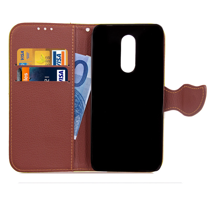 Hot Selling Wholesale Factory Price Mobile Phone Case for ZTE A910 PU Leather Flip Cell Phone Case for ZTE A910