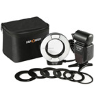 K&F Concept KF-150 TTL GN14 High-Speed Sync Two flash tubes Circle Ring Flash light speedlite Macro Ring Flash