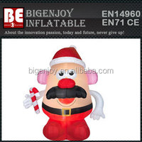 Discount 9' Mr Potato Head Santa Claus Airblown Christmas