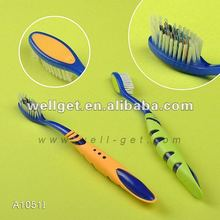 A1051I Tapered Bristle Strong Handle Adult Tooth Brush