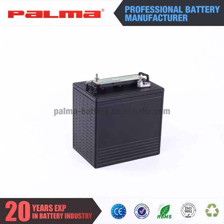Luxury made in china golf cart 6 volts battery