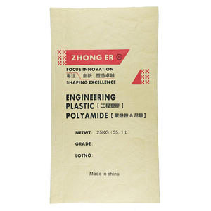 Brown kraft paper bag for chemical packing 25kg
