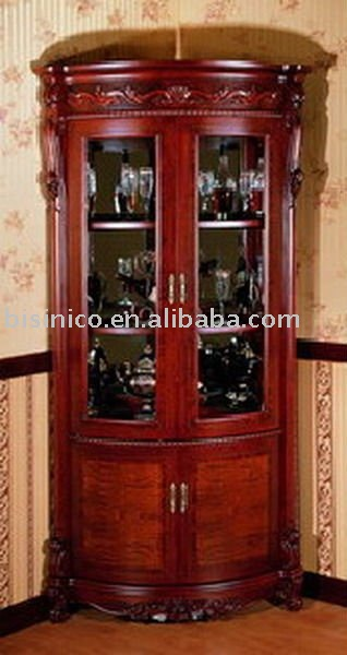 antique french style living room wine cabinet B46106