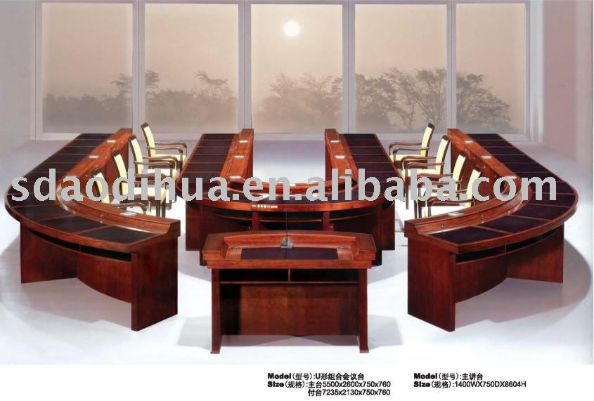 hot selling u -shaped conference table/luxury conference table