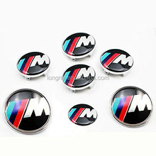 Car Styling Accessories Emblem Badge Sticker Wheel Hub Caps Centre Cover M Emblem For BMW X1 X3 X5 X6 M3 M5 M6 E46 E39 E36 E60
