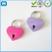 Popular Pink Lover Heart Love Locks Small Padlock Heart Shaped Couples Locks