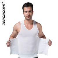 358 WH ZEROBODYS Powerful Mens Body Shaper 300g High Powernet Vest Waist Training Corsets for Sale Postpartum Girdle
