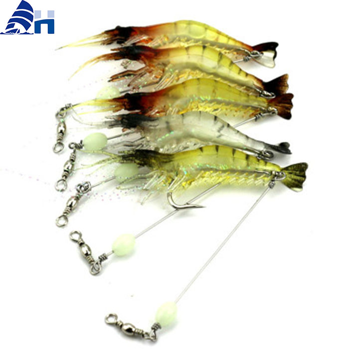 fishing lures artificial shrimp