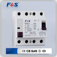 residual current electrical, auto reset circuit breaker, circuit breaker lbd-16e-3