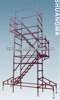 Q235 steel material all around scaffolding system