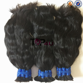 Wholesale price high quality brazilian human hair bulk