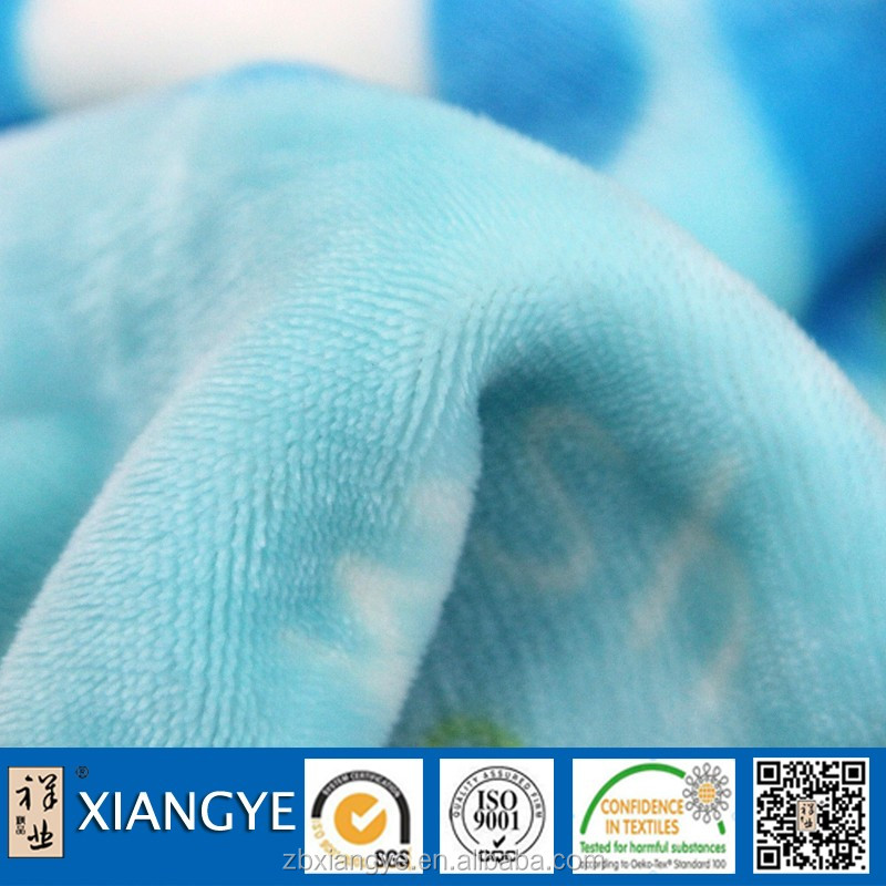 cheap luxury thick fleece blanket for home use