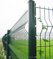 PEACH TYPE POST POWDER COATED WELDED WIRE MESH FENCE FACTORY PRICE