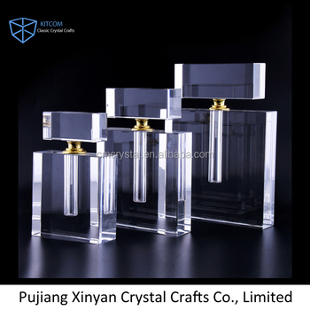 Factory Supply good quality cheap K9 crystal oil bottle Wholesale