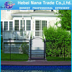 design aluminum fence factory supply sample of all kinds of garden fence gardenin
