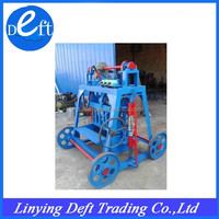high quality cement and concrete small brick making machine for sale