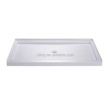 Large fiberglass rectangular shower tray,shower pan,SMC shower base