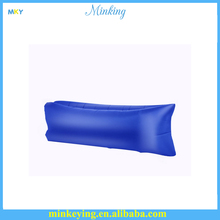 Inflatable sleeping bag air Inflatable Sofa, Hot Selling Nylon Polyester Fabric Laybag Hangout Inflatable Sofa