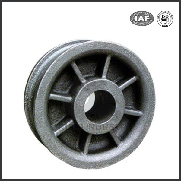 grey cast iron pulley cast iron flywheel