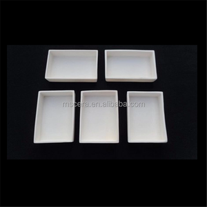 High Temperature Resistant Alumina Al2O3 Ceramic Boats