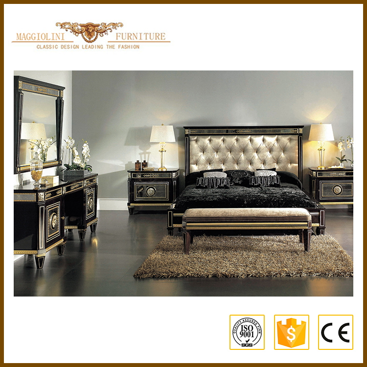 China manufacture environmental king size bedroom suite