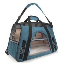 Airline Approved Pet Carriers w/ Fleece Bed For Dog & Cat - Soft Sided Kennel - 2018 Newly Designed