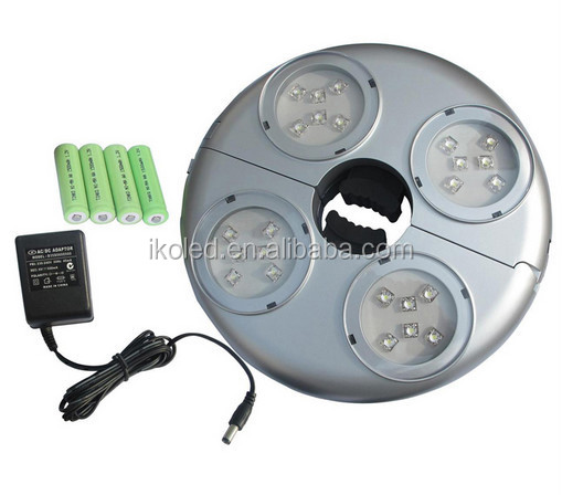 Outdoor Wireless Led Camping Light Patio Cordless Deck