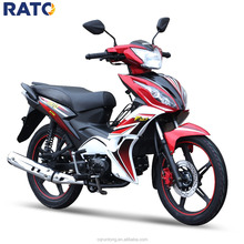 Chongqing factory good rating 4 stroke 110cc cub mini motorcycle