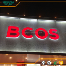 3d outdoor electrical shop lighting signs for holiday