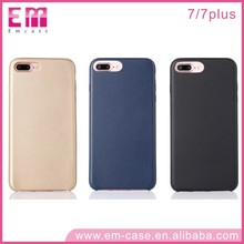 For iPhone 7 PC Real leather Back Cover Case for iPhone 7 7 Plus