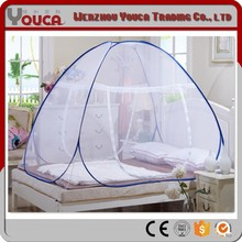 200X200X145 whole bottom single door Folding portable cheap double bed Mosquito Net