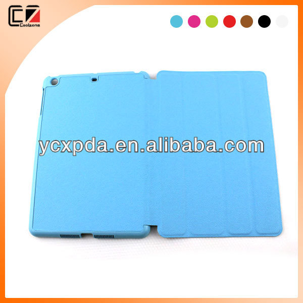 Low MOQ 50pcs 7 inch tablet pc leather cover case for ipad mini retina