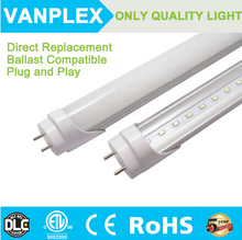 DLC ETL 5000K 18W 4ft T8 LED Linear Tube 160lm/w