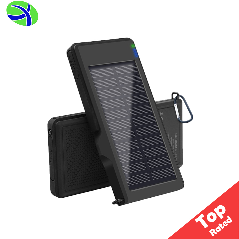 2017 Amazon Solar Power Bank Panel Charger, 1.2W Portable Mobile Solar Phone Charger, Solar Powerbank Battery Charger Shenzhen
