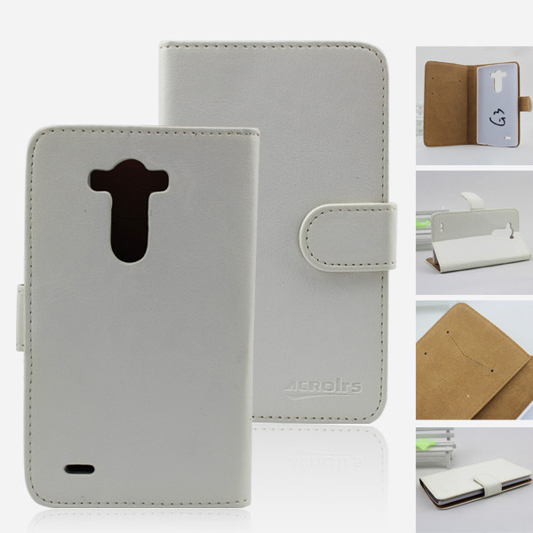 Wholesale Cell Phone Case Wallet Leather Flip Cover Case For LG G3 S