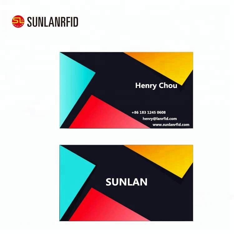 cheap standard size thick business cards with customized logo buy
