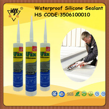 High Quality Waterproof Silicone Sealant For HS CODE 3506100010