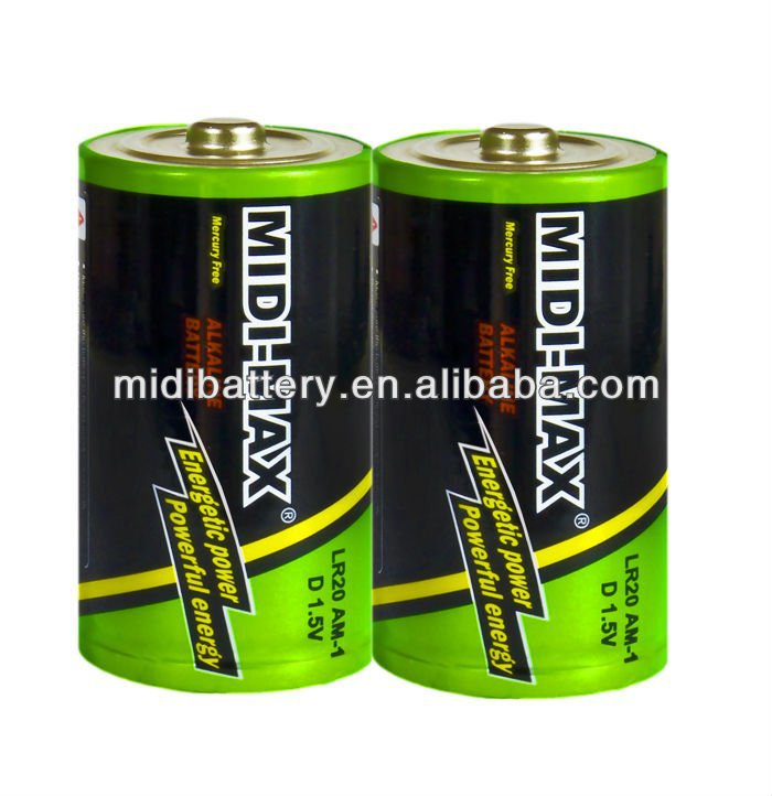 1.5v Heavy Duty Super LR20 Battery