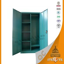 Indian Style Double Door Wardrobe Design India Steel Almirah / Steel Wardrobe